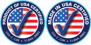 Made in USA Product of USA Certified