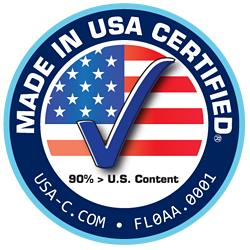 90% > U.S. Content