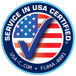 Service in USA Certified